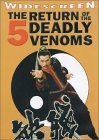 Return of the 5 Deadly Venoms - movie DVD cover picture