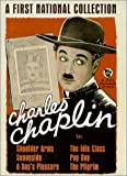 Charlie Chaplin: The First National Collection - movie DVD cover picture