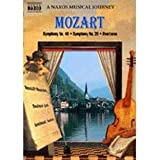 Mozart Symphonies 28 & 40 - A Naxos Musical Journey - movie DVD cover picture
