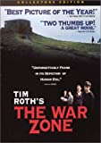 The War Zone - movie DVD cover picture