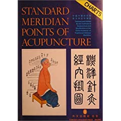 Standard Meridian Points of Acupuncture: Charts