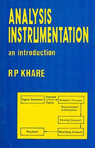 ANALYSIS INSTRUMENTATION : AN INTRODUCTION