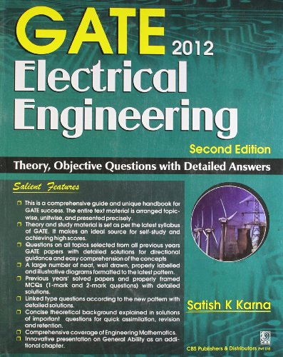 GATE 2012 ELECTRICAL ENGINEERING , 2ED