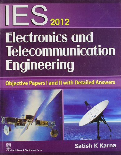 IES 2012 ELECTRONICS AND TELECOMMUNICATION ENGINEERING