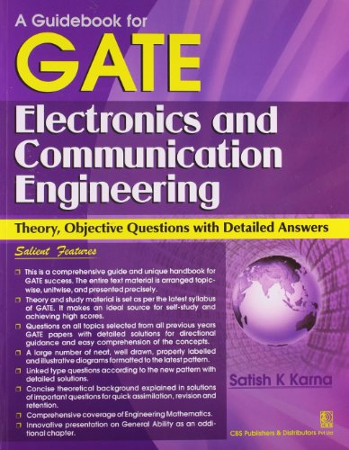 A GUIDE BOOK FOR GATE ELECTRONICS AND COMMUNICATION ENGGNIRING (*)