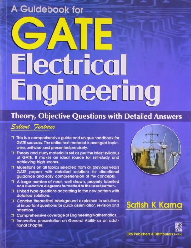 A GUIDE BOOK OF GATE ELECTRICAL ENGINEERING