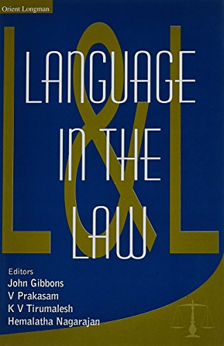 LANGUAGE IN THE LAW (HB)