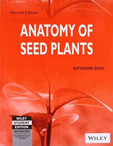 ANATOMY OF SEED PLANTS 2ED (PB 2014)