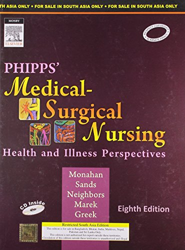 PHIPPS' MEDICAL-SURGICAL NURSING: HEALTH AND ILLNESS PERSPECTIVES, 8ED