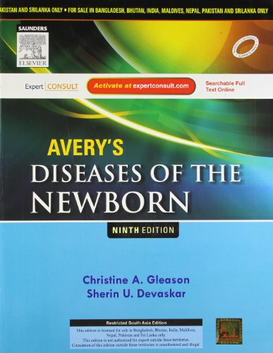 AVERY'S DISEASES OF THE NEWBORN WITH EXPERT CONSULT PRINT, 9ED