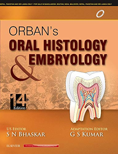 ORBAN'S ORAL HISTOLOGY AND EMBRYOLOGY, 14ED**