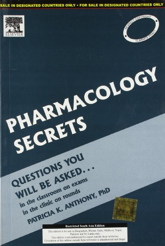 PHARMACOLOGY SECRETS (OUT OF PRINT)
