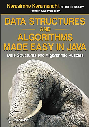 Data Structures and Algorithms Made Easy in Java: Data Structure and Algorithmic Puzzles 电子书 第1张