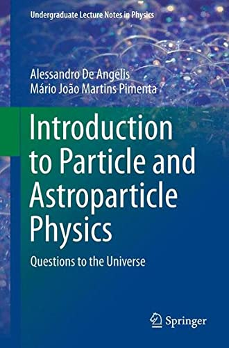 Cover of Introduction to Particle and Astroparticle Physics