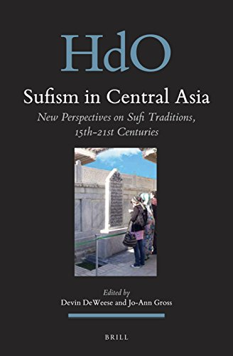 Sufism in Central Asia book jacket