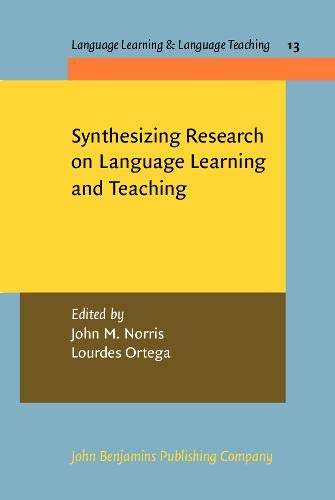 a summary and synthesis of some of the most recent research in applied linguistics
