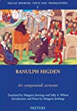 Ranulph Higden, Ars componendi sermones (Dallas Medieval Texts and Translations), Jennings, M; Wilson, Bryan