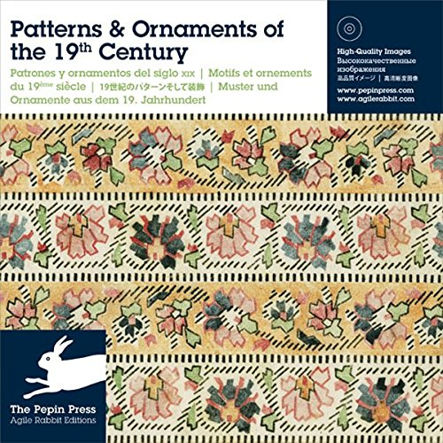 Patterns & Ornaments of the 19th Century (Agile Rabbit Editions S.)