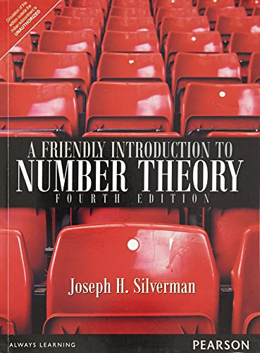 A FRIENDLY INTRODUCTION TO NUMBER THEORY,4ED