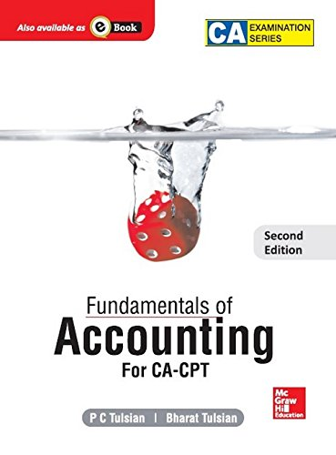 FUNDAMENTALS OF ACCOUNTING,  (FOR CA CPT) 2ED