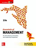 ESSENTIALS OF MANAGEMENT : An International, Innovation, and Leadership Perspective
