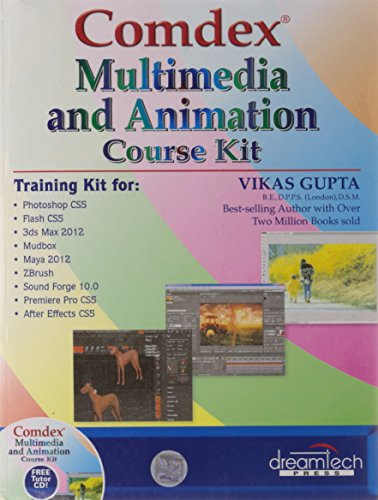 COMMDEX MULTIMEDIA AND ANIMATION COURSE KIT (WITH CD)