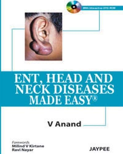 ENT, HEAD & NECK DISEASES MADE EASY 1ED.