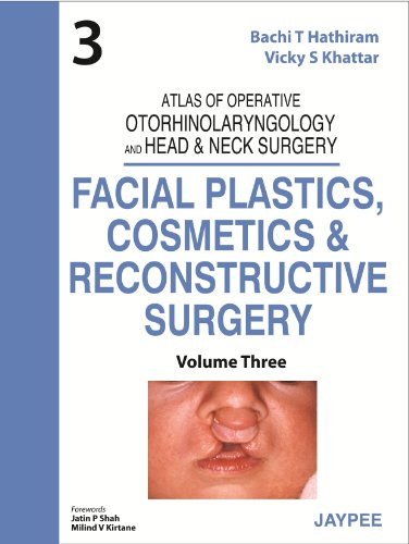 ATLAS OF OPERATIVE OTORHINOLARYNGOLOGY AND HEAD & NECK SURGERY (VOLUME-3): FACIAL PLASTICS, COSMETICS AND RECONSTRUCTIVE SURGERY 1ED.
