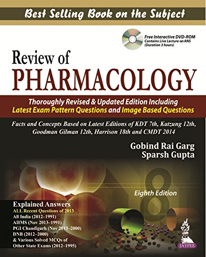 REVIEW OF PHARMACOLOGY: WITH CD, 8ED