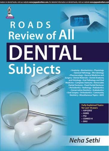 ROADS REVIEW OF ALL DENTAL SUBJECTS