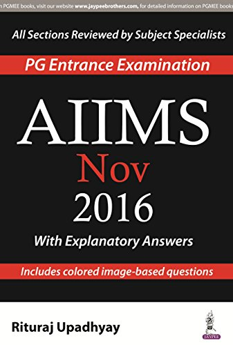 AIIMS NOV 2016  1ED.