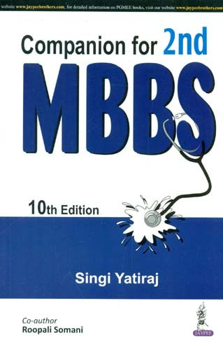 COMPANION FOR 2ND MBBS, 10ED