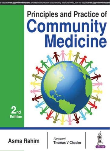 PRINCIPLES AND PRACTICE OF COMMUNITY MEDICINE 2ED