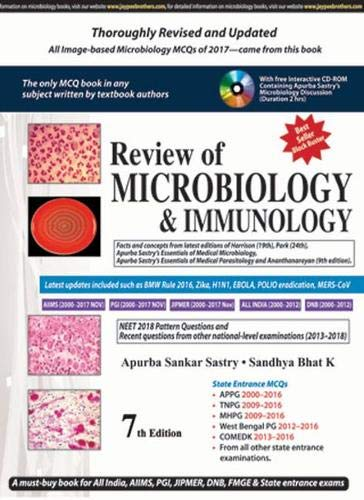 Review of Microbiology & Immunology, 7ED.