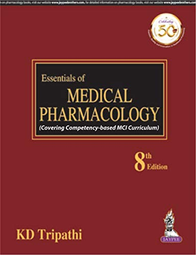 ESSENTIALS OF MEDICAL PHARMACOLOGY, 8ED