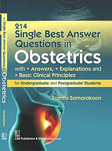 214 SINGLE BEST ANSWER QUESTIONS IN OBSTETRICS PB)
