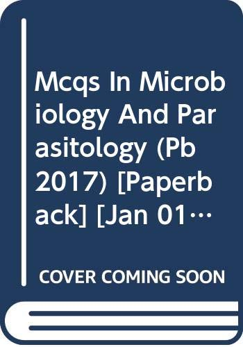 MCQS IN MICROBIOLOGY AND PARASITOLOGY