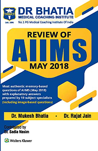 REVIEW OF AIIMS - MAY 2018