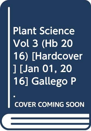 PLANT SCIENCE VOL 3 (HB)