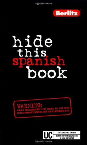 Hide This Spanish Book (Hide This Book), Berlitz Publishing