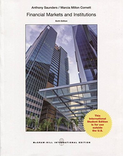 FINANCIAL MARKETS AND INSITUTIONS, 6E