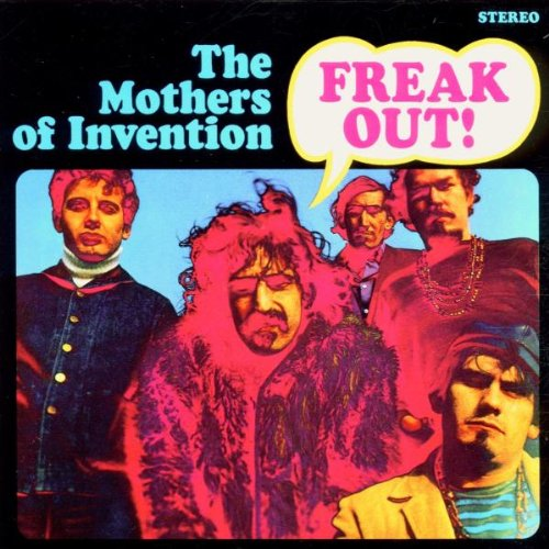 Original album cover of Freak Out! by Frank Zappa & The Mothers of Invention