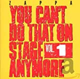 You Can't Do That on Stage Anymore, Vol. 1