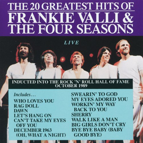 Frankie Valli & Four Seasons - 20 Greatest Hits-Live