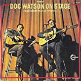 Copertina di album per Doc Watson on Stage