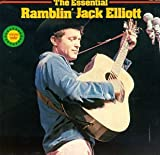 Skivomslag för The Essential Ramblin' Jack Elliott