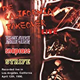 Album cover for The California Takeover... Live