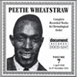 Copertina di album per Peetie Wheatstraw Vol.7 1930-1941