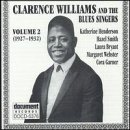 Album cover for Clarence Williams and the Blues Singers Vol.2 1927-1932