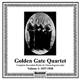 Skivomslag för Golden Gate Quartet Vol 1 1937-1938